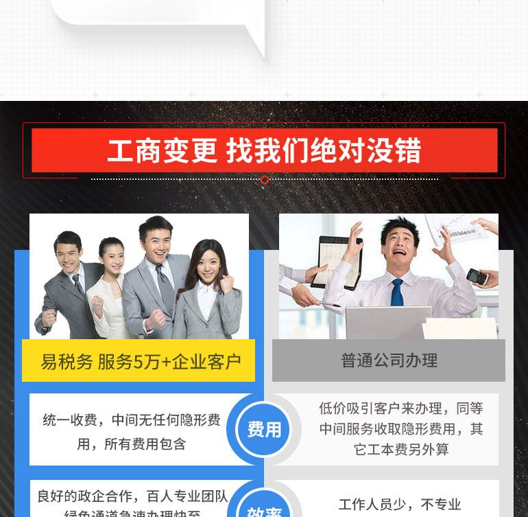 深圳經營范圍變更-深圳易稅務